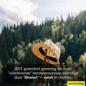 Qht genereert genezing die oude overlevende herstelprocessen overstijgt door bloeien winst te creëren